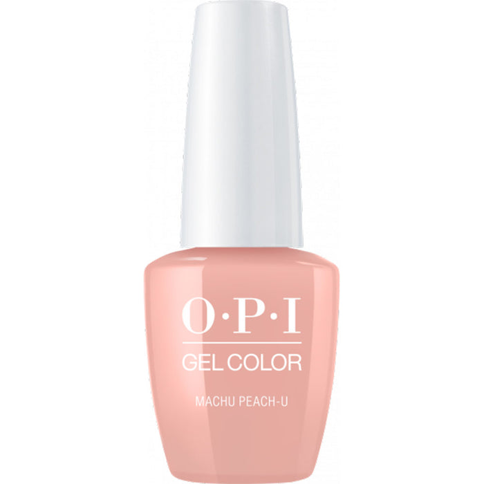 OPI GelColor Macho Peach-u (15ml)