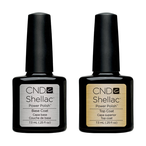 CND Shellac Base & Top Coat [7.3ml]