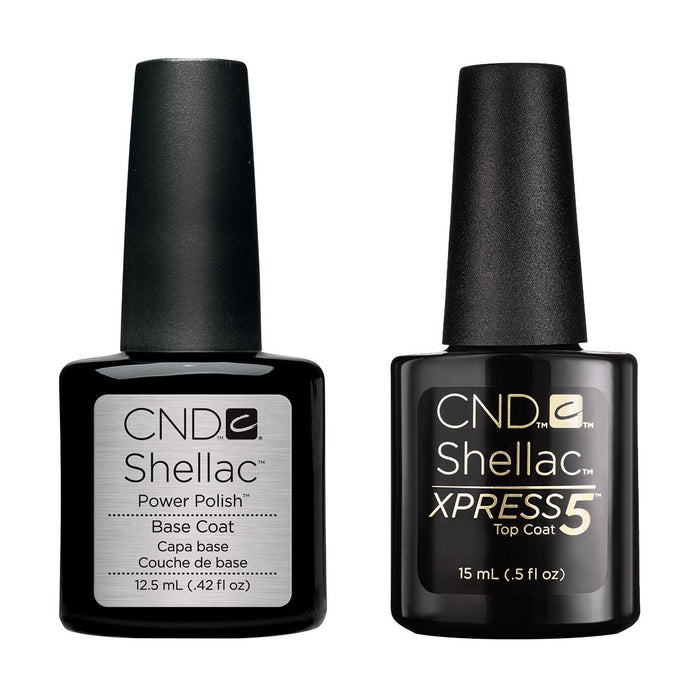 CND Shellac Large Base & Xpress5 Top Coat