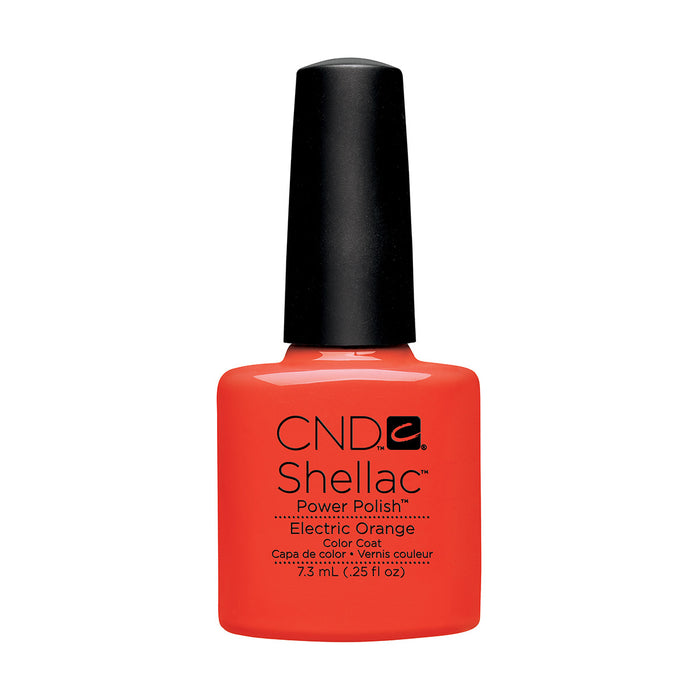 CND Shellac Electric Orange [7.3ml]