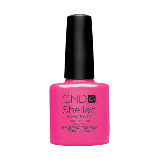 CND Shellac Hot Pop Pink [7.3ml]