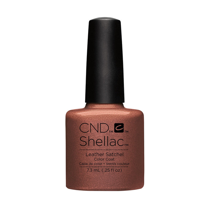 CND Shellac Leather Satchel [7.3ml]