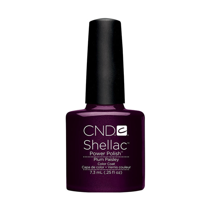 CND Shellac Plum Paisley [7.3ml]