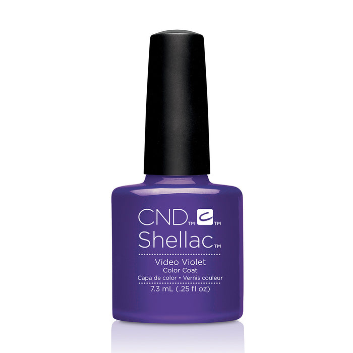 CND Shellac Video Violet [7.3ml]