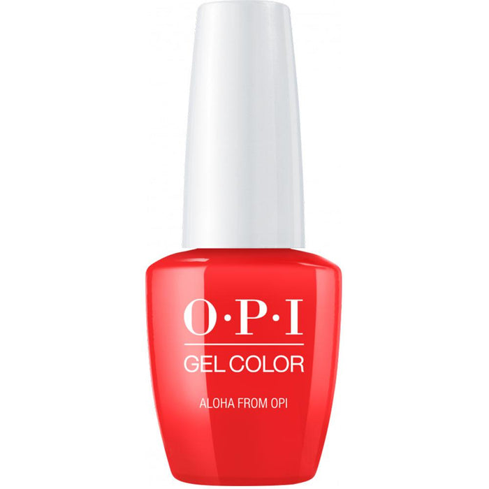 OPI GelColor 'Aloha Red Gel Nail Polish