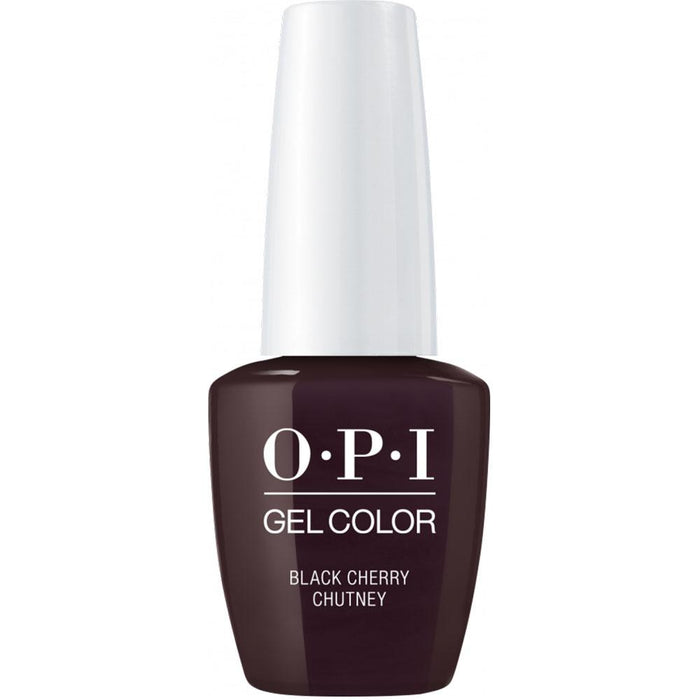 OPI GelColor 'Black Cherry Chutney'