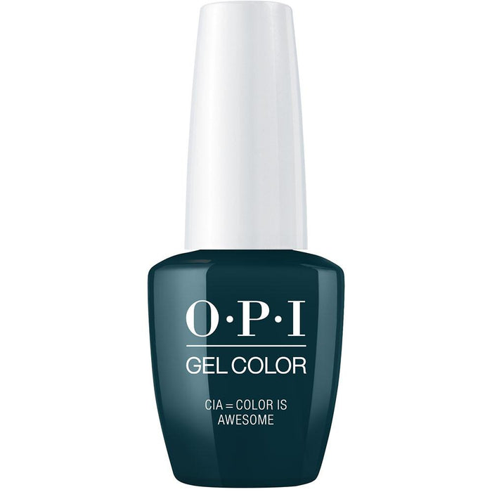 OPI GelColor 'CIA = Color is Awesome'