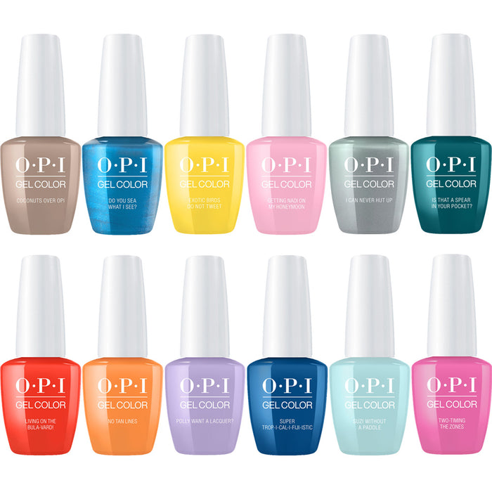 OPI GelColor Fiji Collection