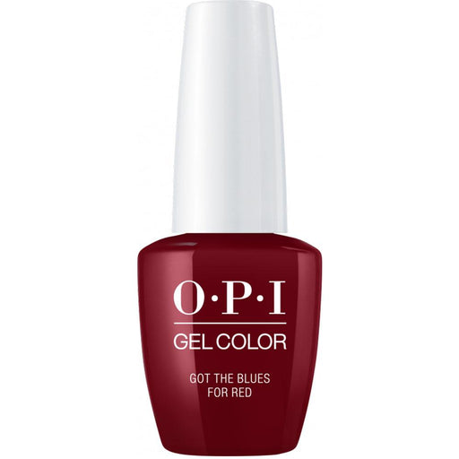 OPI GelColor 'Got the Blues for Red'