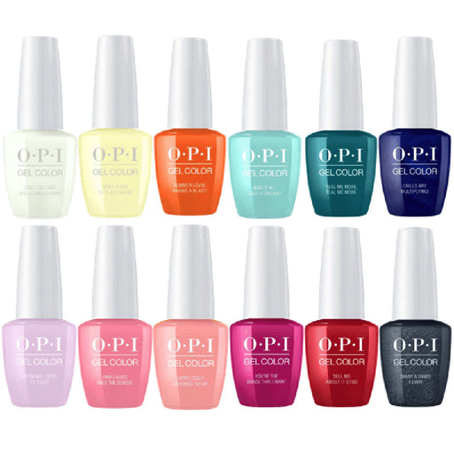 OPI GelColor 'Grease' Collection