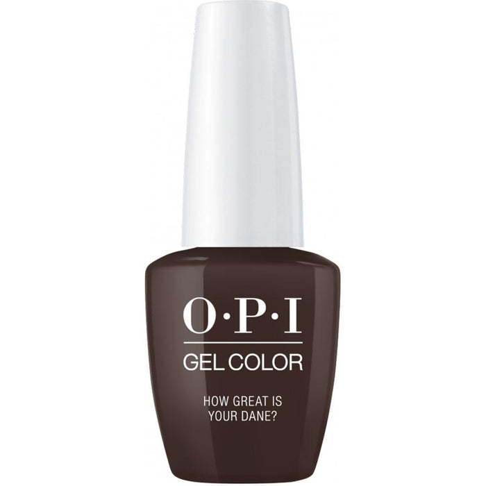 OPI GelColor 'How Great is Your Dane?'