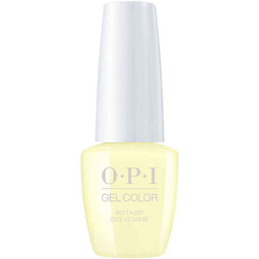 OPI GelColor 'Meet a Boy Cute As Can Be'