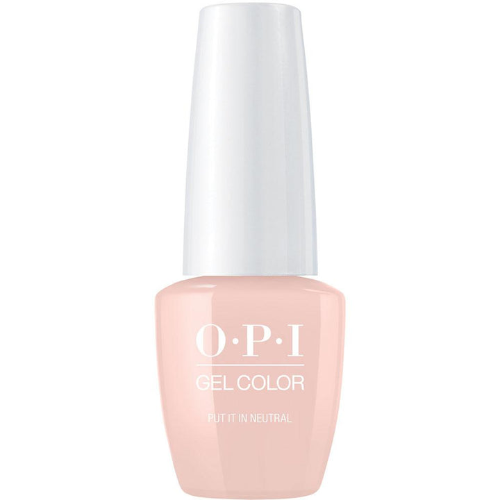 OPI GelColor \'Put It in Neutral\' Gel Nail Polish [15ml]