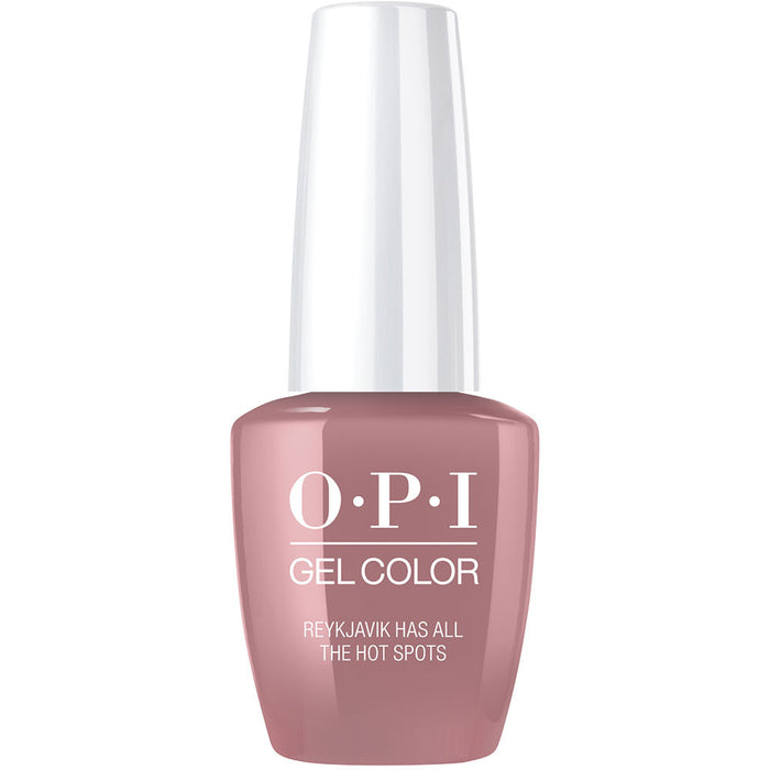 OPI GelColor 'Reykjavik Has All the Hot Spots'