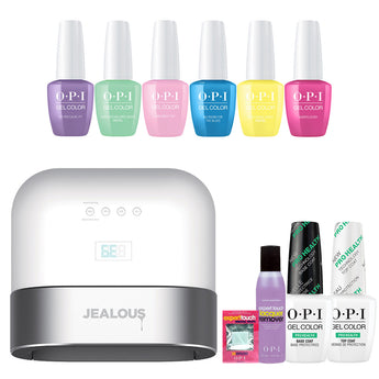OPI GelColor 'Showstoppers' DualCure Lamp Starter Kit