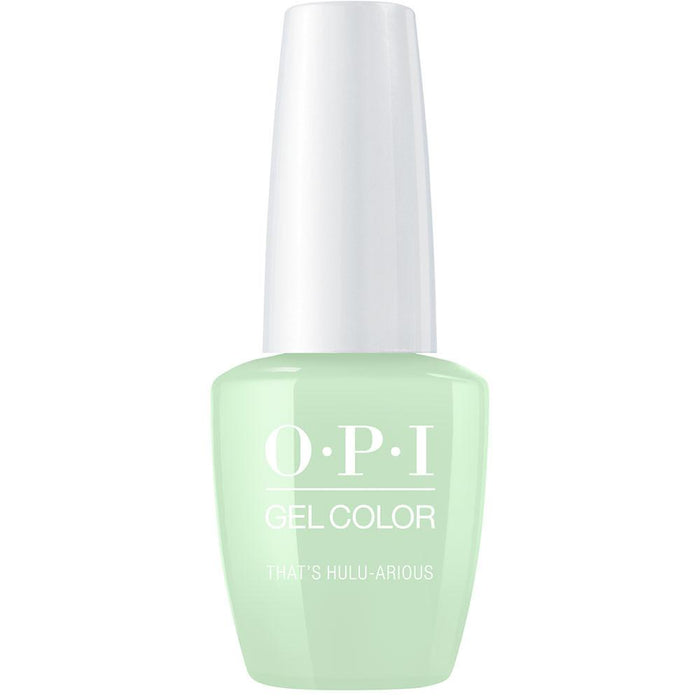 OPI GelColor 'That's Hulu-arious'