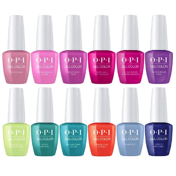 OPI GelColor Tokyo Collection