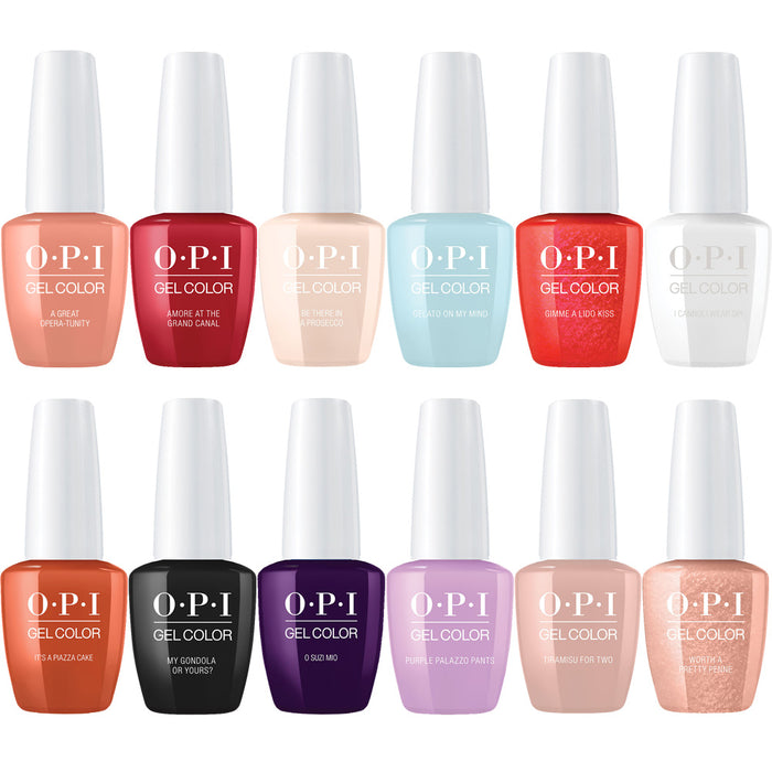 OPI GelColor Venice Collection