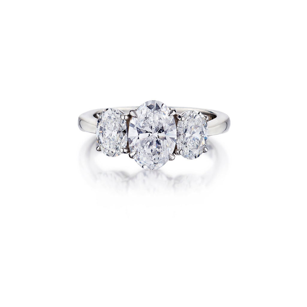 Oval Cut Diamond Ring