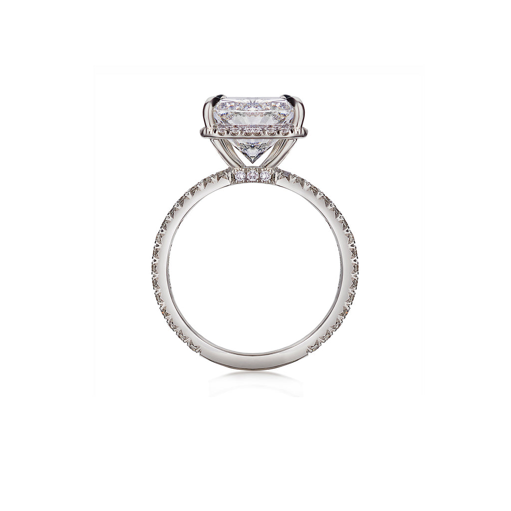 Cushion Cut Diamond Ring