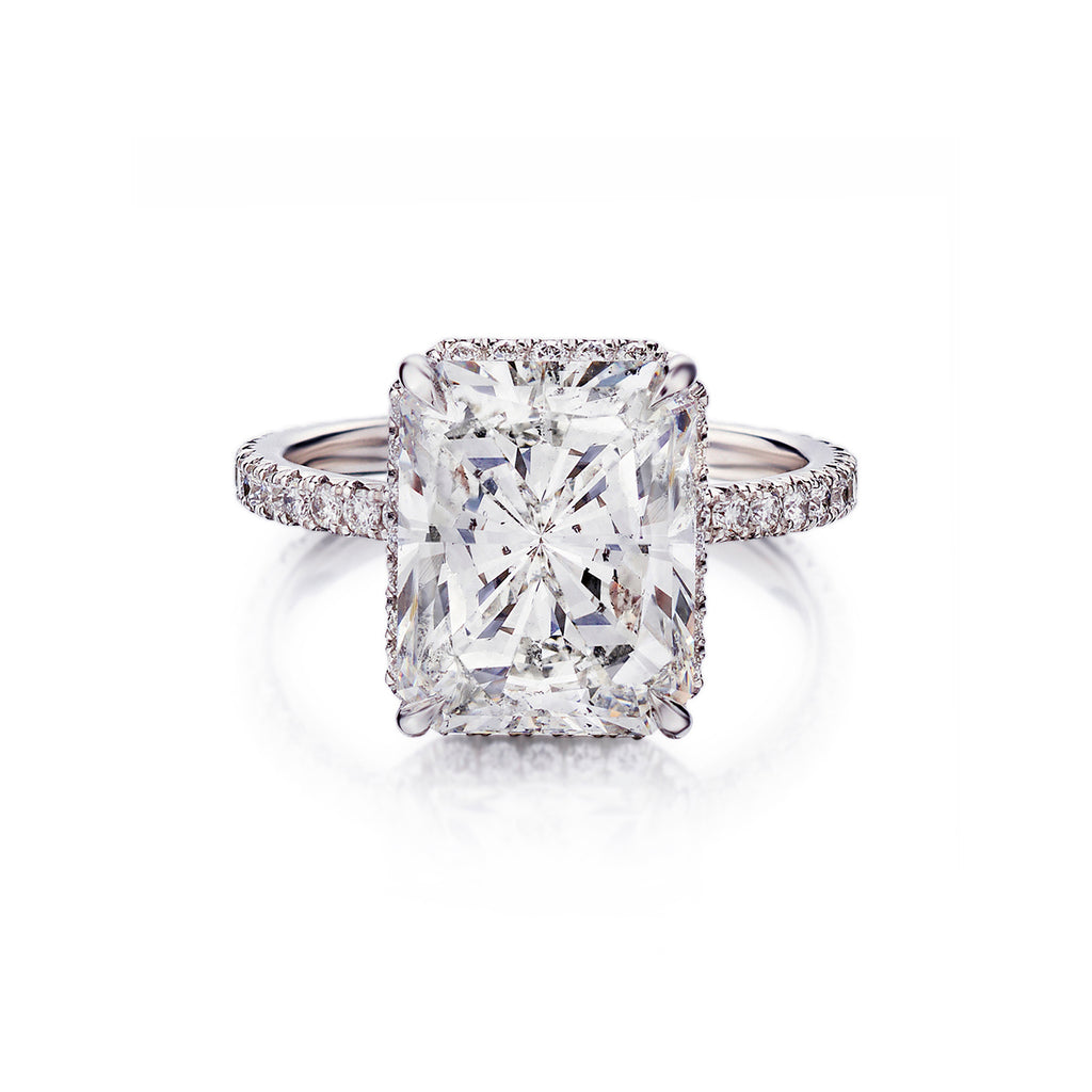 Cushion Cut Diamond Ring Mark Lash