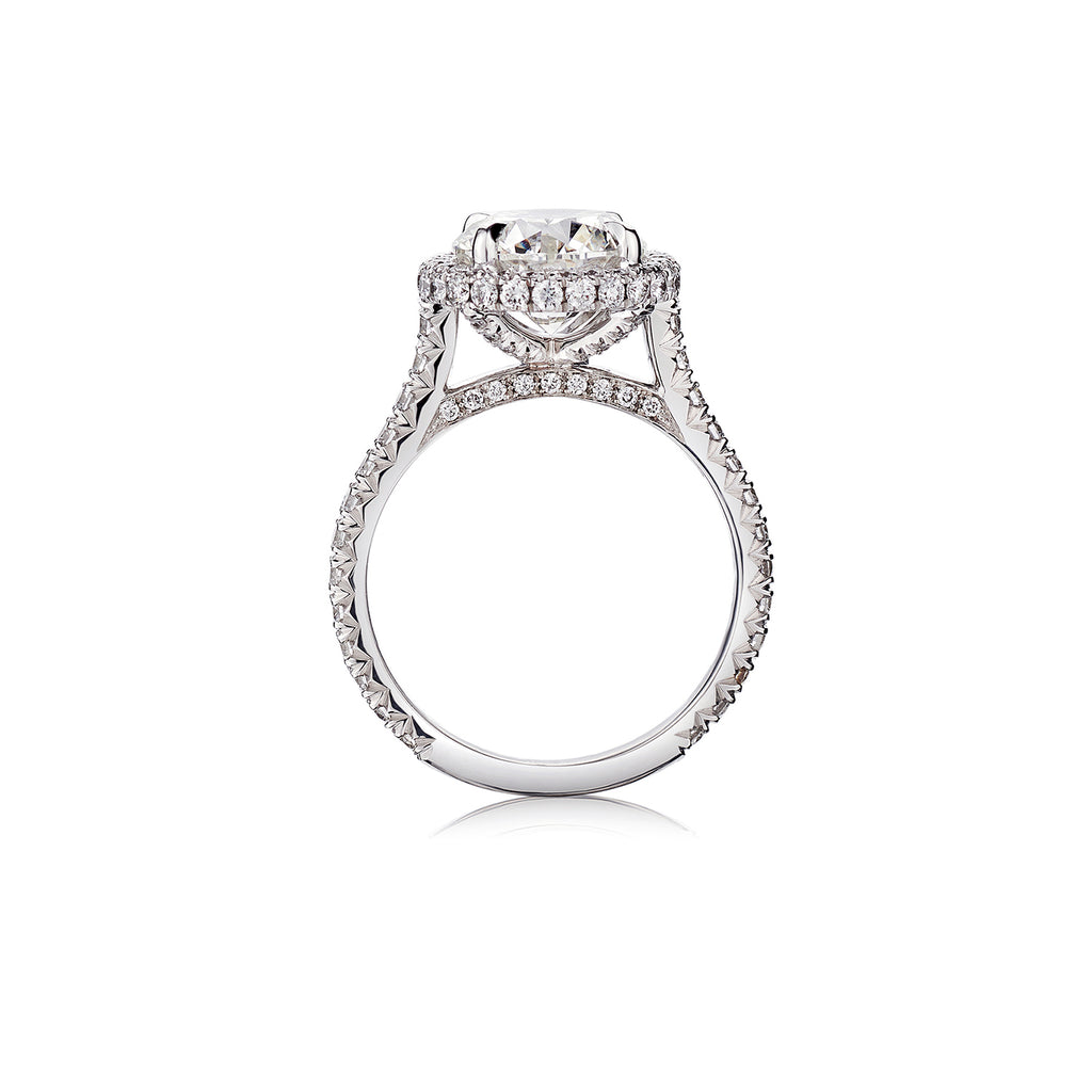 Round Brilliant Cut Diamond Ring