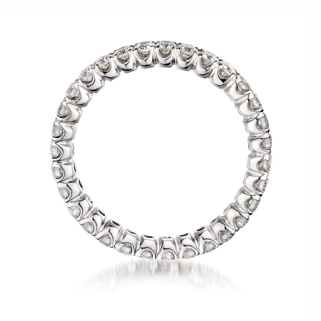 Round Brilliant Cut Diamond Band