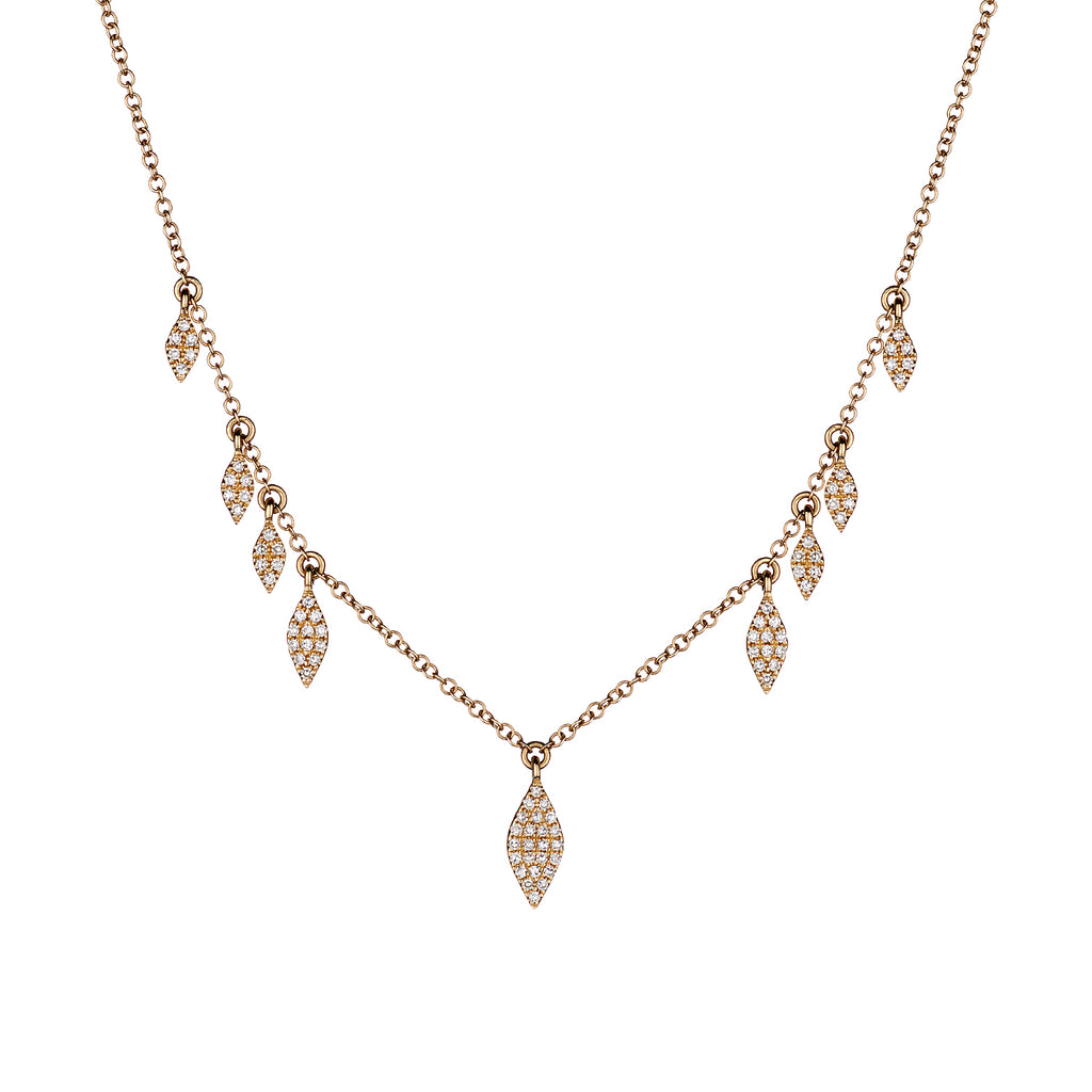 PAVÉ DIAMOND SPRINKLE NECKLACE