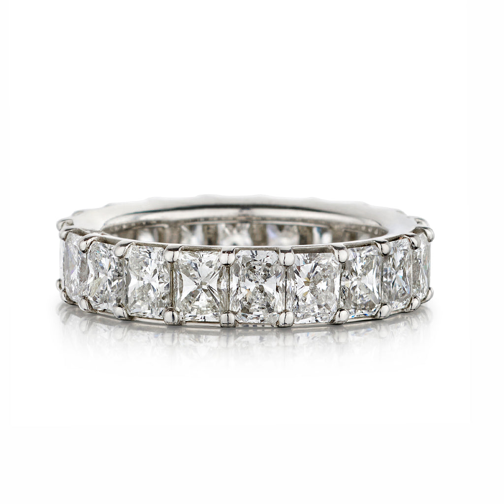 Radiant Cut Diamond Eternity Band