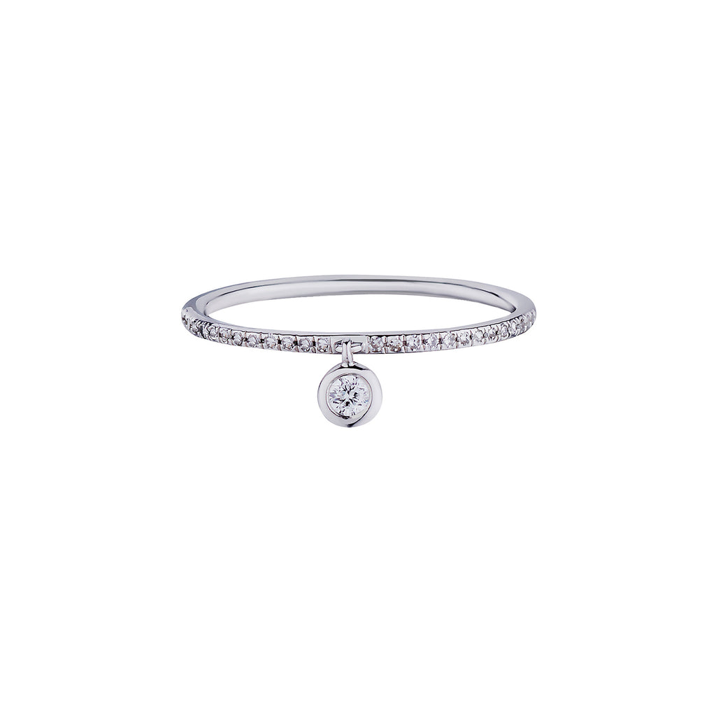 DIAMOND DROP MICRO ETERNITY BAND