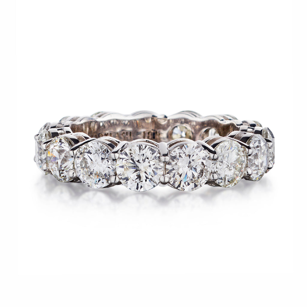 Round Brilliant Cut Diamond Eternity Band