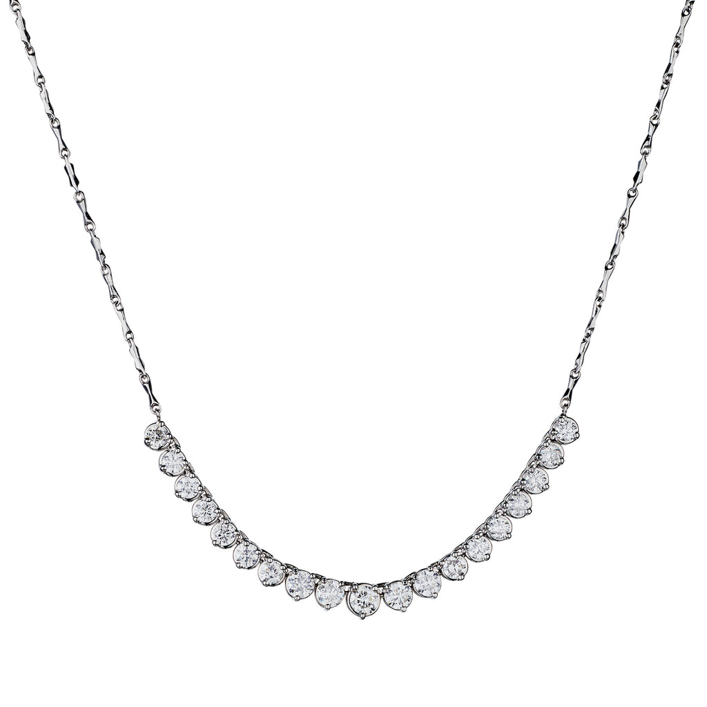 3 CLAW 'ADD A DIAMOND' NECKLACE