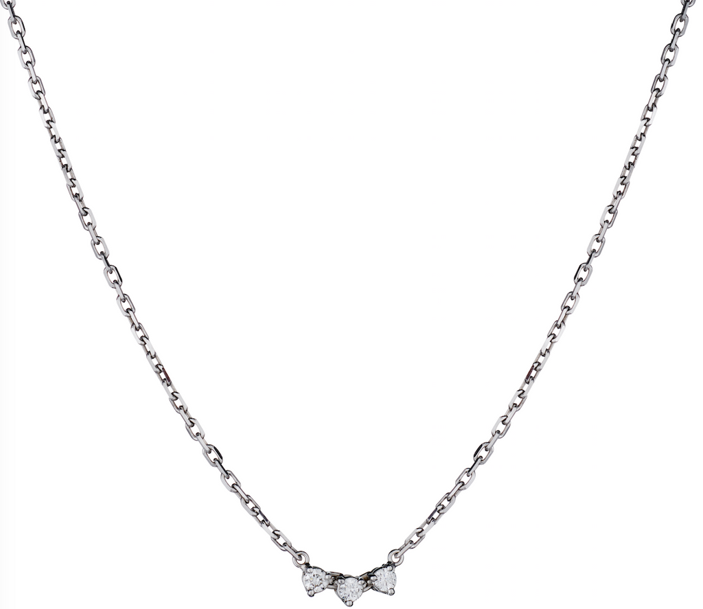 TRIPLE ADD A DIAMOND NECKLACE