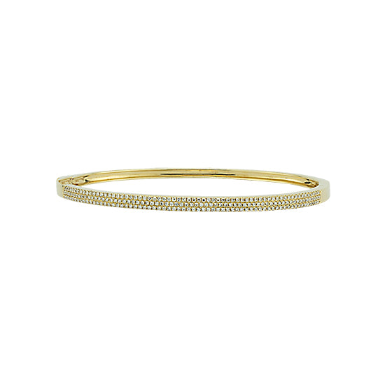 Pavé Diamond Bangle