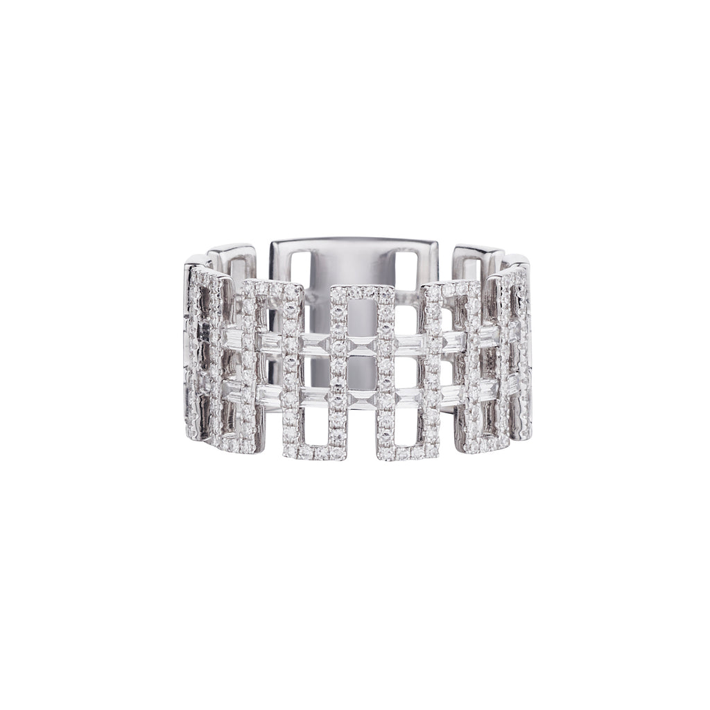GEOMETRIC DIAMOND BAND