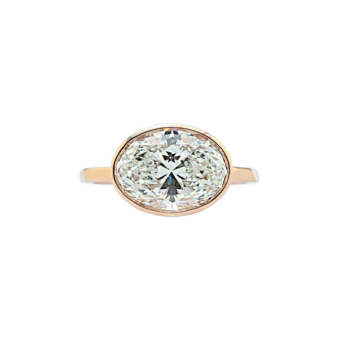 Bezel Set Diamond