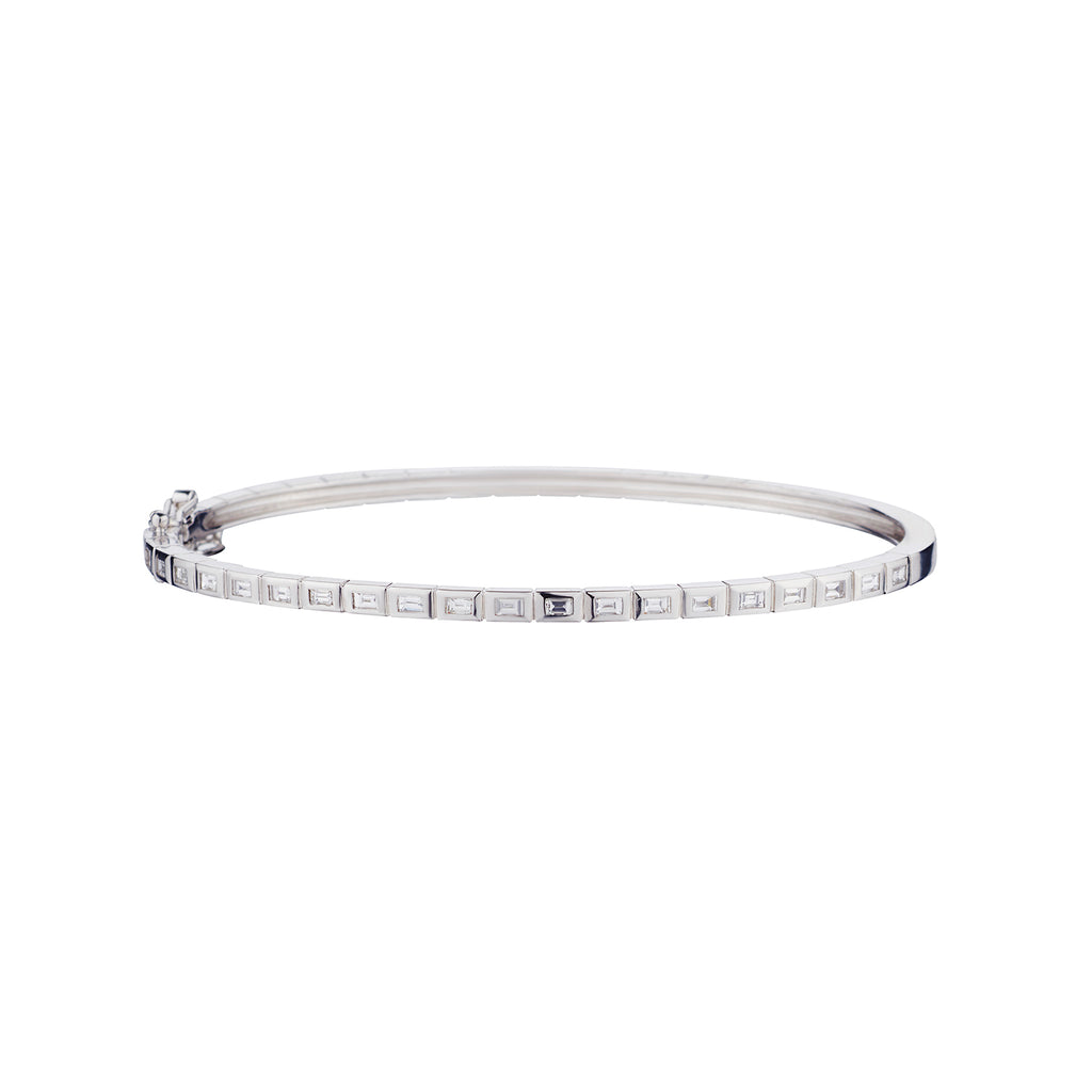 BAGUETTE DIAMOND BANGLE