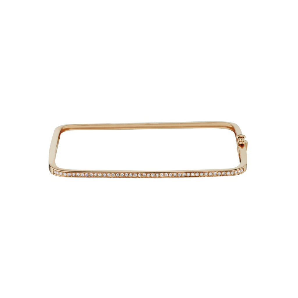 DIAMOND SQUARE SHAPED BANGLE