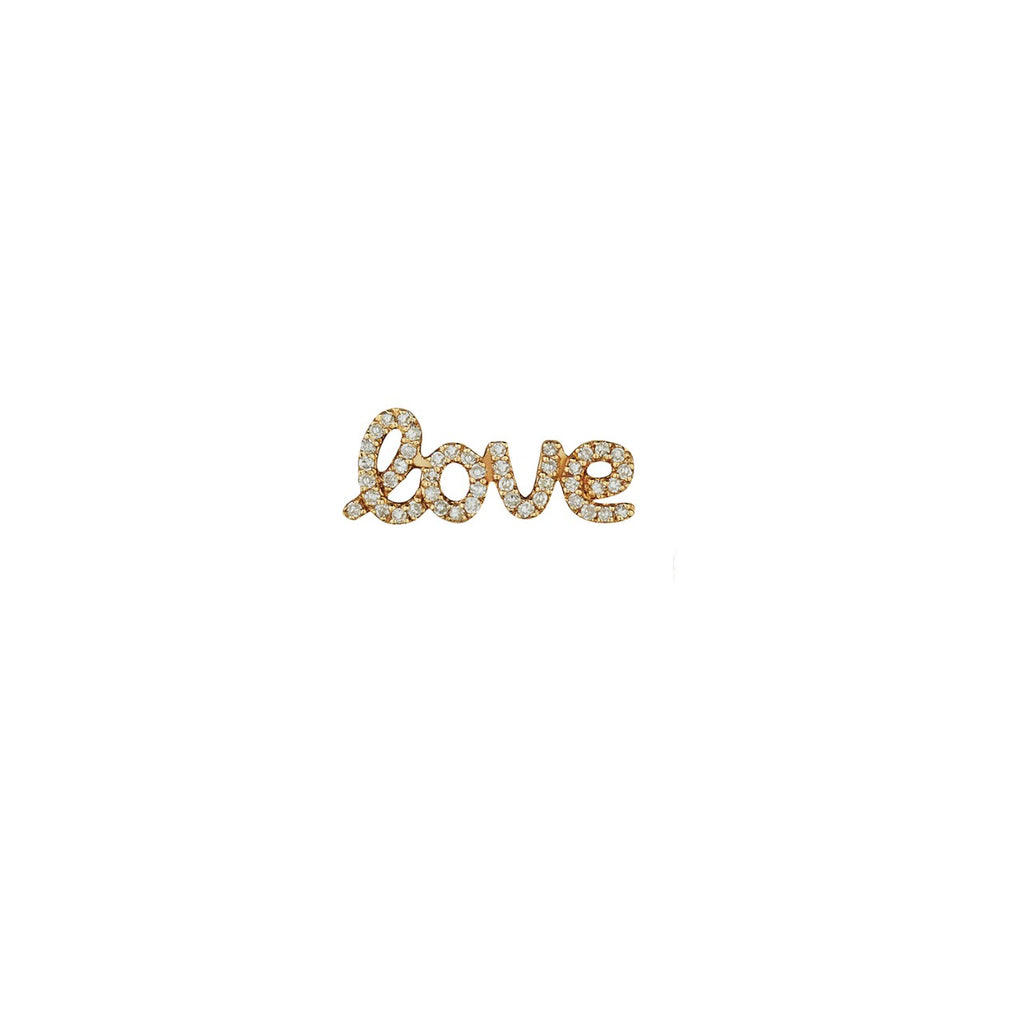 DIAMOND SINGLE LOVE STUD