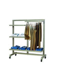 Heavy Duty Slotted Clothing rack
