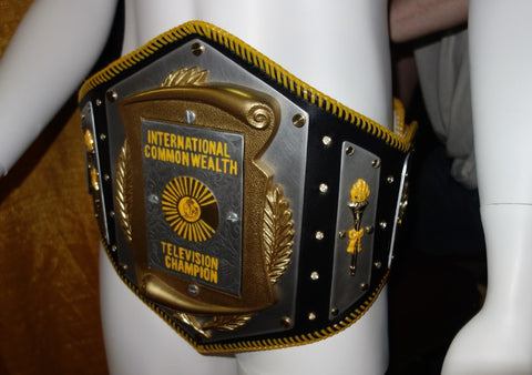 wrestling belt at Super Slam Five