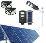 solar energy lights and equipments