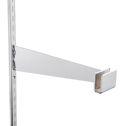 "12"" bracket for rectangular hangrail,"