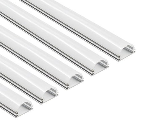 Aluminum Channel System, With Frosted White Diffuser Covers ---C6034