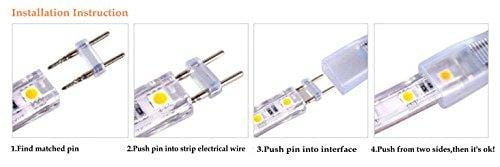 middle connector for 110V led strip light 2