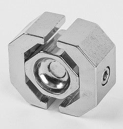 Heavy duty 4 way grid wall connector