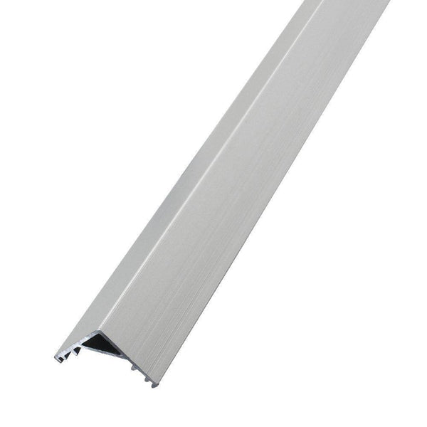 V-Shaped Aluminum Channel for Corner Mount, With Frosted White Diffuser Covers ---C6067