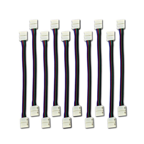 LED Strip Connector for IP30 5050 LED RGB Strip Lights ---C5035