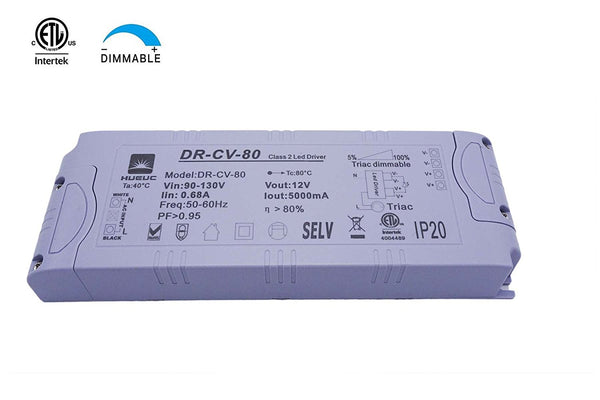 LED Driver, Transformer, Dimmable, 5A, DC12V Output 4