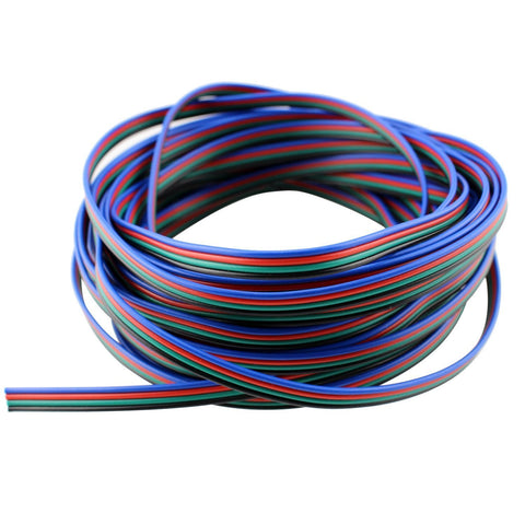 4 Color RGB Extension Cable Line for LED Strip RGB 5050 3528 Cord ---C5093